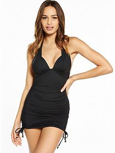 v-by-very-halter-ruched-swimdressnbsp--black