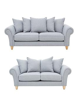 ideal-home-ashurst-3-seaternbsp-2-seater-fabric-sofa-set-buy-and-save