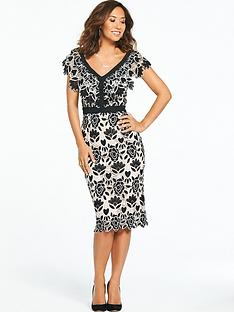 myleene-klass-sweetheart-neck-pencil-dress