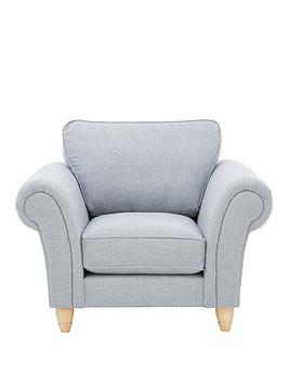 Photo of Ideal home ashurst fabric armchair