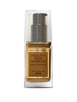 Photo of Max factor max factor healthy skin harmony miracle foundation medium coverage 30ml