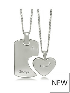 keepsafe-sterling-silver-cz-his-and-hers-personalised-tag-and-heart-spilt-pendant