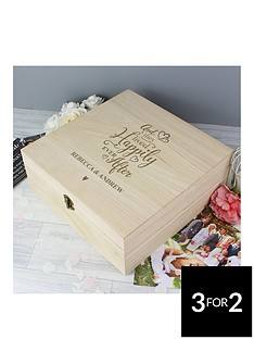 personalised-happy-ever-after-memories-box