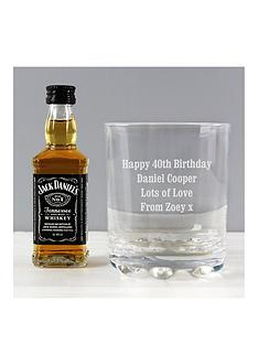 personalised-tumbler-with-miniature-jack-daniels