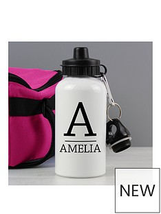 personalised-monogram-water-bottle