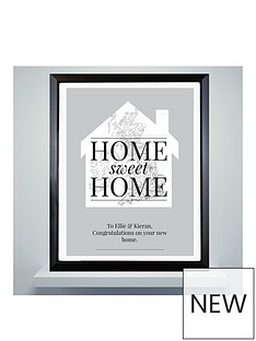 personalised-map-home-framed-picture