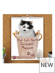 personalised-cat-calendar-2018