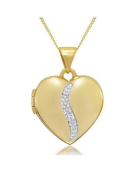 keepsafe-9ct-gold-personalised-diamond-heart-locket