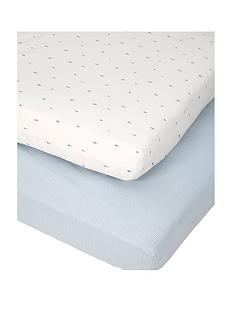 mamas-papas-mamas-amp-papas-little-forest-pk-2-cot-bed-sheets