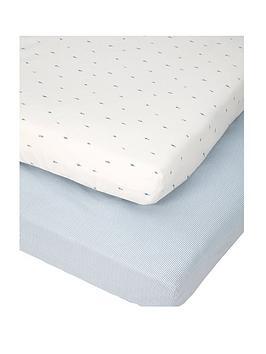 mamas-papas-mamas-amp-papas-little-forest-pk-2-cot-bed-sheets