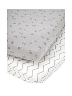 mamas-papas-mamas-papas-pk-2-cot-bed-fitted-sheets-grey
