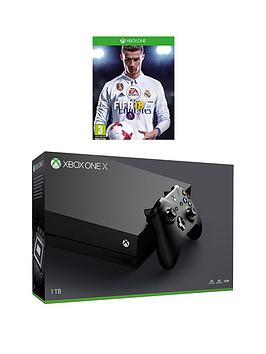xbox-one-x-1tb-console-with-fifa-18-and-optional-extras