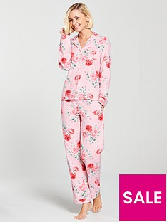 cath-kidston-brushed-flannel-pj-set-antique-rose