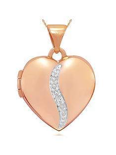 keepsafe-9ctnbspgold-personalised-diamond-heart-locket
