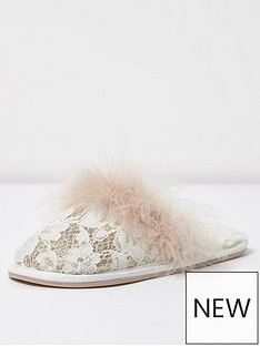 river-island-glitter-lace-mule-slipper