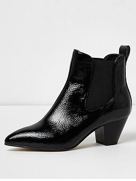 river-island-river-island-point-toe-western-ankle-boot