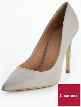 v-by-very-chic-pointed-court-shoe-grey