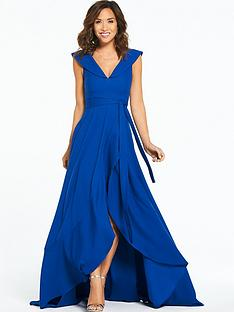 myleene-klass-off-the-shoulder-tie-maxi-dress-cobalt