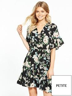 v-by-very-petite-printed-woven-tea-dress