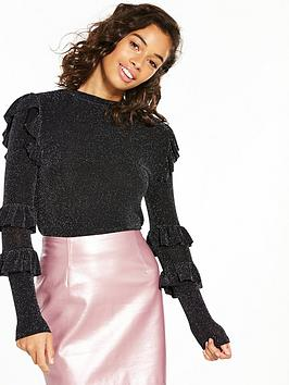 v-by-very-petite-ruffle-detail-turtle-neck