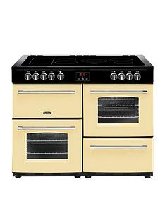 belling-100e-farmhousenbsp100cm-electric-ceramic-range-cooker-cream