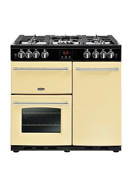 belling-farmhouse-90g-90cm-gas-range-cooker-cream