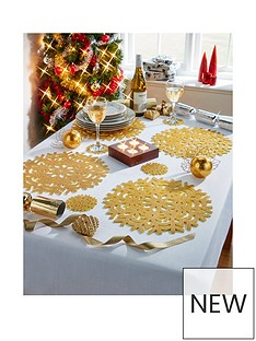 metallic-placemats-and-coaster-set-4-place-setting