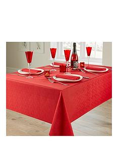linen-look-4-place-setting-tablecloth-and-napkin-set-ndash-red