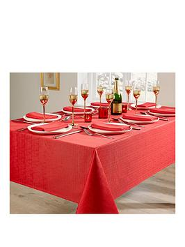linen-look-8-place-setting-tablecloth-and-napkin-set-ndash-red