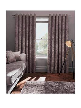 Studio G Naples Lined Eyelet Curtains   Very.co.uk