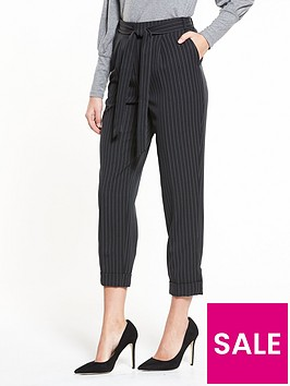 v-by-very-pinstripe-tapered-leg-trouser-charcoal