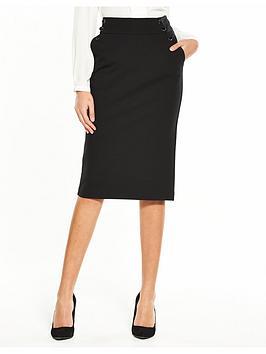 v-by-very-ponte-pencil-skirt-black