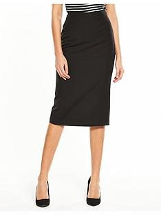 v-by-very-the-zip-back-midi-skirt-black