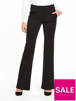v-by-very-ponte-bootcut-trouser-black