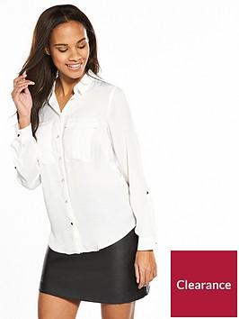 v-by-very-utility-shirt-ivory