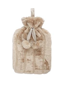 plain-faux-fur-hot-water-bottle