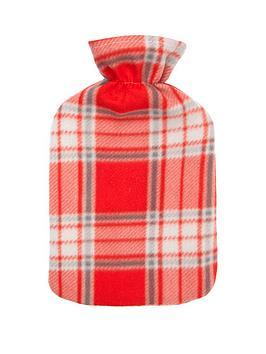 tartan-fleece-hot-water-bottle