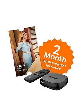 Image of NOW TV Box with 2 Month Entertainment Pass, Black
