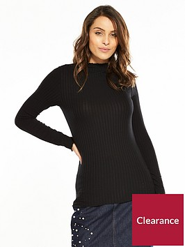 v-by-very-ribbed-long-sleeve-top-black