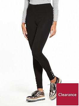 v-by-very-petite-button-detail-ponti-legging