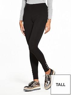 v-by-very-tall-button-detail-ponti-legging