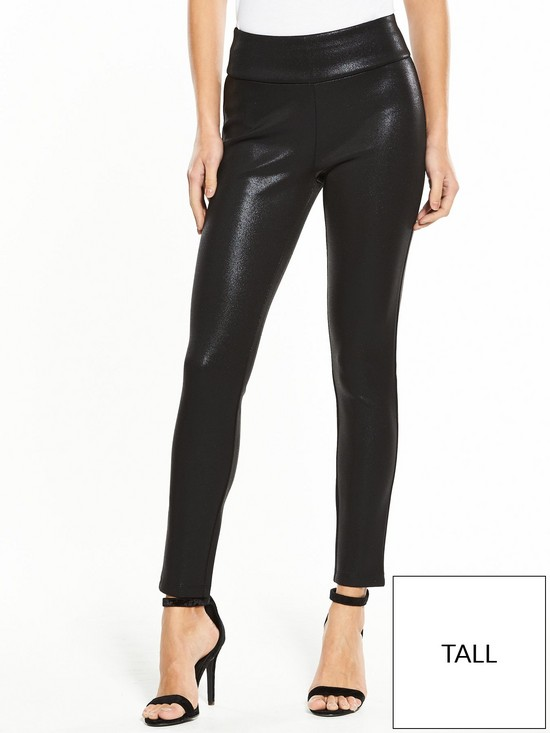 aa2a79ab303fc V by Very Tall Premium Wet Look Legging | very.co.uk