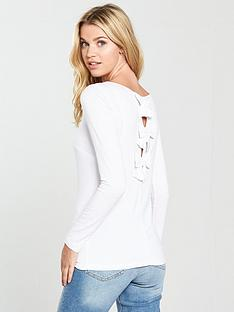 v-by-very-bow-back-top-ivory