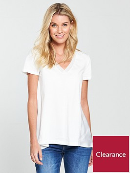 v-by-very-woven-jersey-mix-top-white