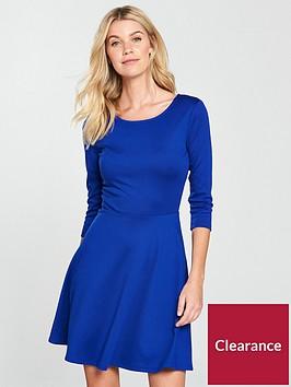 v-by-very-pontenbspskater-dress-electric-blue
