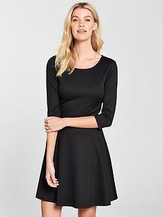 v-by-very-pontenbspskater-dress-black