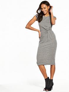 v-by-very-jersey-twist-front-midi-dress-grey-marl