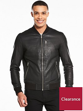 selected-homme-trunk-leather-bomber