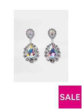 river-island-river-island-oversized-teardrop-dangle-earrings