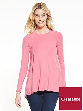 v-by-very-long-sleeve-swing-top-blush
